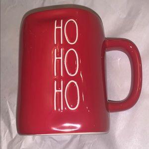 Rae Dunn Ho Ho Ho red mug Christmas 2019